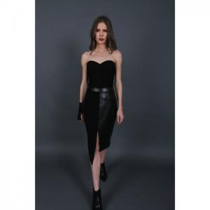 Corset and asymmetric duo skirt - martha fadel