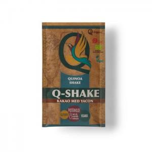 Organic quinoa q-shake with raw cocoa & yacon - q-organic