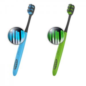 Complete Care Toothbrushes In Blue & Green - Biomed