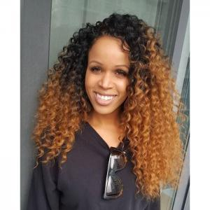 Ombre curly wig   - shee fashion'z house