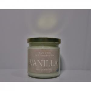 Maple candles classic jar  vanilla - maple candles