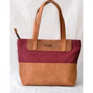 Leather & Canvasbag  WL03 - Wanjiline Leather