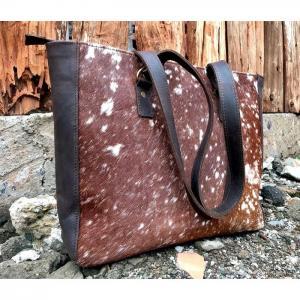 Hairon Leather Totebag WL06 - Wanjiline Leather