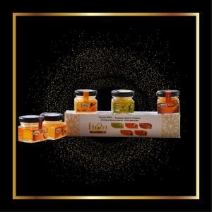 Ftori Bio O Tasting Box 2Honey-1Amlou-1Argane-1 Diolive Oil. - Ftori