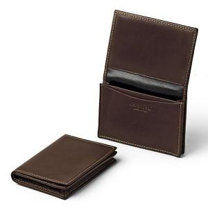 Italian Leather Card Holder - Pierotucci