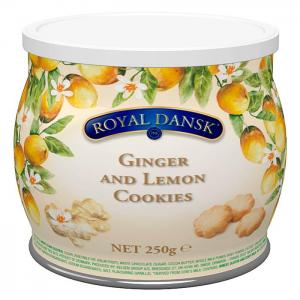 Royal dansk ginger and lemon cookies