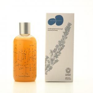 Fragàncies del montseny tonifying bath & shower gel / rosemary & honey