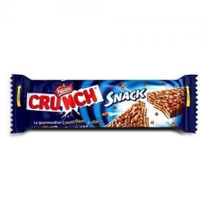 Nestlé crunch chocolate snack