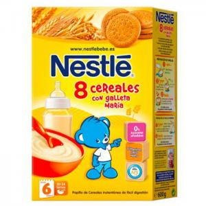 Nestlé pap 8 cereals porridge with biscuit