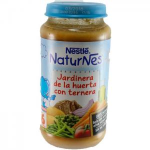 Nestlé naturnes planter ''de la huerta'' with veal