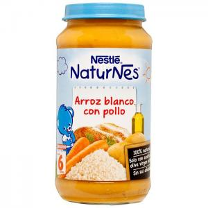 Nestlé naturnes white rice with chicken