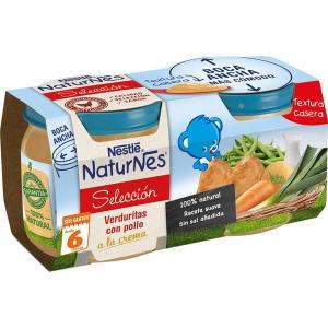 Nestlé selection naturnes vegetables with chicken cream