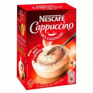 Nescafé cappuccino decaffeinated