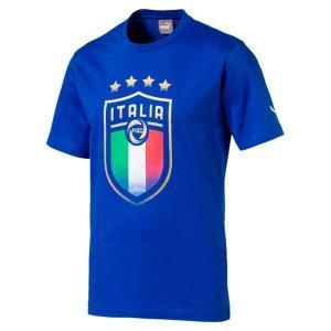 Figc italia badge tee - puma